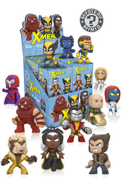 X-Men Mystery Mini Figures 5 cm Display (12)