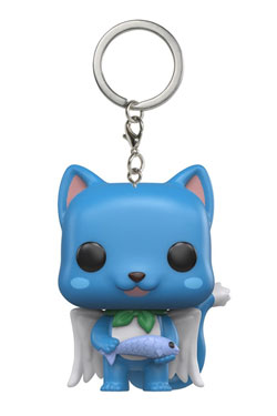 Fairy Tail Pocket POP! Vinyl Keychain Happy 4 cm
