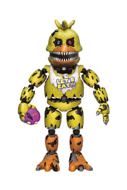 Five Nights at Freddy's Action Figure Nightmare Chica 13 cm
