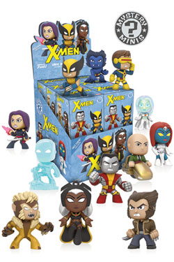 X-Men Mystery Minis Vinyl Mini Figures 6 cm Display Variant Limited (12)