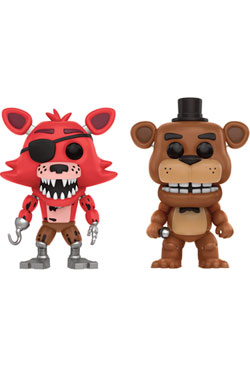 Five Nights at Freddy's POP! Games Vinyl Figures 2-Pack Foxy The Pirate & Freddy 9 cm