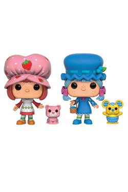 Strawberry Shortcake POP! Vinyl Figures 2-Pack Strawberry Shortcake & Blueberry Muffin 9 cm