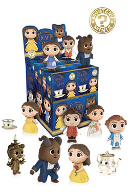 Beauty and the Beast Mystery Minis Vinyl Mini Figures 6 cm Display (12)