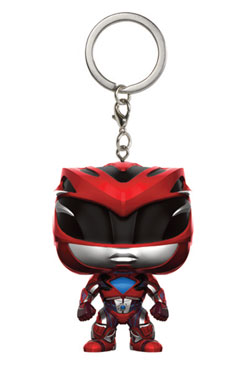 Power Rangers Pocket POP! Vinyl Keychain Red Ranger 4 cm