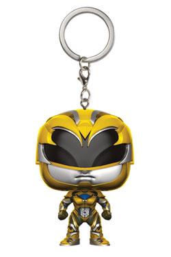 Power Rangers Pocket POP! Vinyl Keychain Yellow Ranger 4 cm