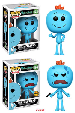 Rick and Morty POP! Animation Figures Mr. Meeseeks 9 cm Assortment (6)