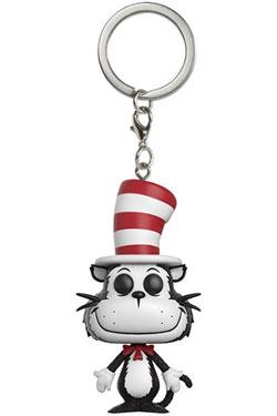 Dr. Seuss Pocket POP! Vinyl Keychain Cat in the Hat 4 cm