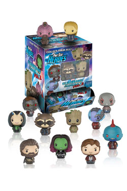Guardians of the Galaxy Vol. 2 Pint Size Heroes Mini Figures 4 cm Display (24)