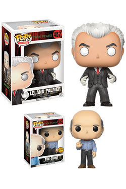 Twin Peaks POP! Television Vinyl Figures Leland Palmer & The Giant 9 cm Assortment (6)