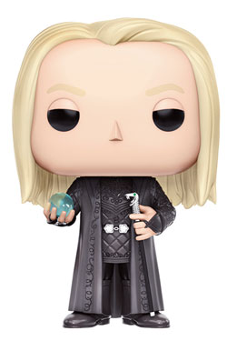 Harry Potter POP! Movies Vinyl Figure Lucius Malfoy (Holding Prophecy) 9 cm