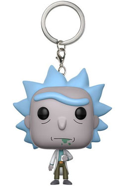 Rick and Morty Pocket POP! Vinyl Keychain Rick 4 cm