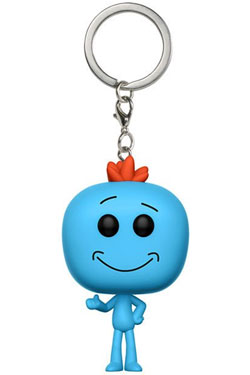 Rick and Morty Pocket POP! Vinyl Keychain Mr. Meeseeks 4 cm