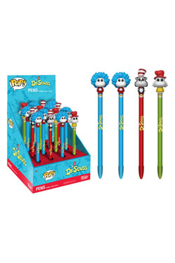 Dr. Seuss POP! Homewares Pens with Toppers Display Classic (16)