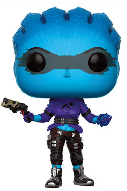 Mass Effect Andromeda POP! Games Vinyl Figure Peebee (With Gun) 9 cm