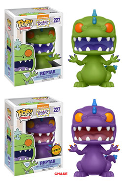 Rugrats POP! Television Figures Reptar 9 cm Assortment (6)