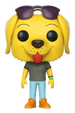 BoJack Horseman POP! Animation Vinyl Figure Mr. Peanutbutter 9 cm