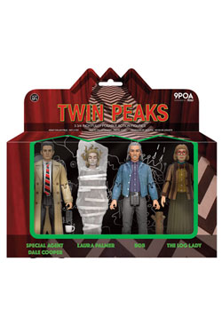 Twin Peaks Action Figures 4-Pack 10 cm