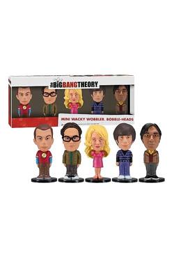 The Big Bang Theory Wacky Wobbler Mini Bobble-Head 5-Pack 8 cm