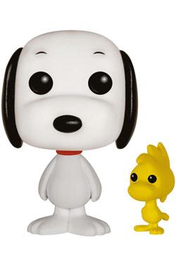 Peanuts POP! Animation Vinyl Figure Snoopy & Woodstock 9 cm