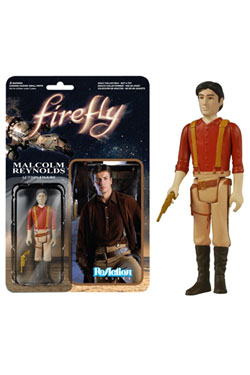Firefly ReAction Action Figure Malcolm Reynolds 10 cm