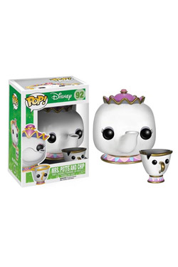 Beauty and the Beast POP! Vinyl Figure Mrs. Potts and Chip 10 cm