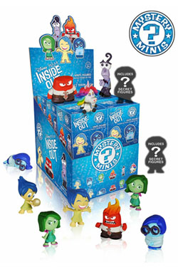 Inside Out Mystery Minis Vinyl Mini Figures 6 cm Display (12)