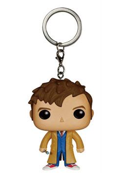 Doctor Who POP! Vinyl Keychain 10th Doctor 4 cm