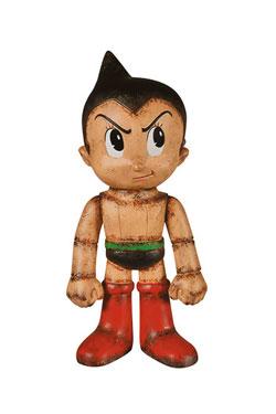 Astro Boy Hikari Sofubi Vinyl Action Figure Astro Boy Distressed Premium 19 cm
