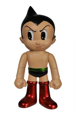 Astro Boy Hikari Sofubi Vinyl Action Figure Astro Boy Classic Metallic 19 cm