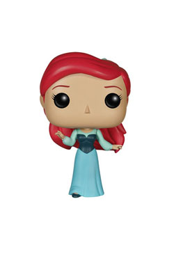 The Little Mermaid POP! Disney Vinyl Figure Ariel in Blue Dress 9 cm