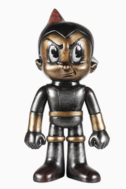 Astro Boy Hikari Sofubi Vinyl Action Figure Astro Boy Metal Mix Premium 19 cm