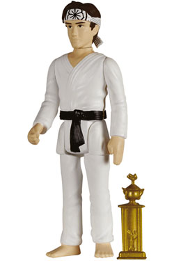 The Karate Kid ReAction Action Figure Daniel Larusso in Karate Suit 10 cm