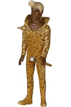 Fifth Element ReAction Action Figure Ruby Rhod 10 cm
