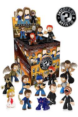 Supernatural Mystery Minis Vinyl Mini Figures 6 cm Display (12)