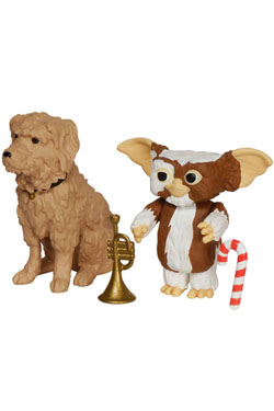 Gremlins ReAction Action Figure Gizmo & Barney 6 cm