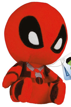 Marvel Mopeez Plush Figure Deadpool 12 cm
