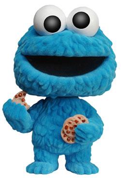 Sesame Street POP! TV Vinyl Figure Cookie Monster (Flocked) 9 cm