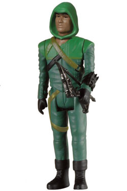 Arrow ReAction Action Figure John Diggle (Arrow Costume) 8 cm