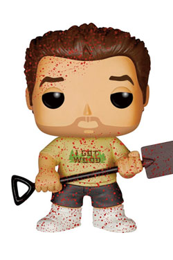 Shaun of the Dead POP! Movies Vinyl Figure Ed Bloody Variant 9 cm