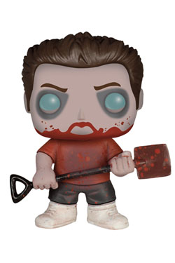 Shaun of the Dead POP! Movies Vinyl Figure Zombie Ed 9 cm