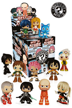 Best of Anime Mystery Mini Figures 6 cm Series 1 Display (12)