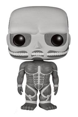 Attack on Titan POP! Animation Vinyl Figure Colossal Titan Black & White 15 cm
