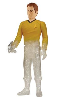 Star Trek ReAction Action Figure Phasing Captain Kirk 10 cm