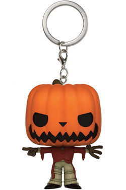 Nightmare Before Christmas Pocket POP! Vinyl Keychain Pumpkin King 4 cm