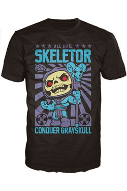Masters of the Universe POP! Tees T-Shirt Skeletor Size S