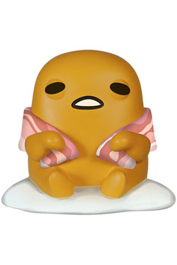 Gudetama, the Lazy Egg POP! Animation Vinyl Figure Gudetama with Bacon 9 cm