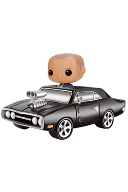 Fast & Furious POP! Rides Vinyl Vehicle with Figure 1970 Dodge Charger & Dom 20 cm