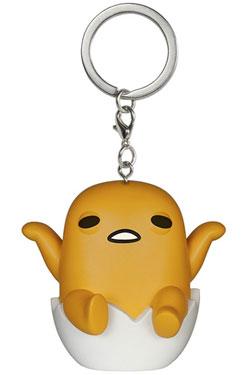 Gudetama, the Lazy Egg Pocket POP! Vinyl Keychain Gudetama 4 cm