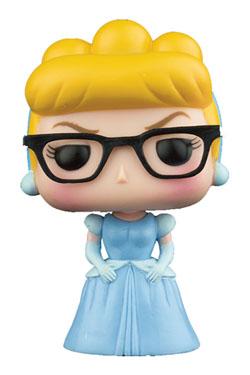 Cinderella POP! Disney Vinyl Figure Cinderella Nerd (Hipster) 9 cm