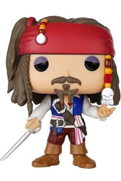 Pirates of the Caribbean POP! Vinyl Figure Captain Jack Sparrow 9 cm